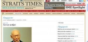Singaporeans Can Never Retire?